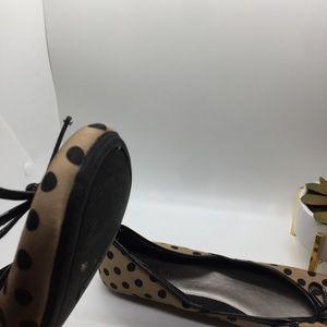 Kelly & Katie Shoes - Kelly & Katie Black polka dot ballet flats